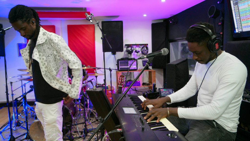 Blessing Magore live recording Labyrinth Studios